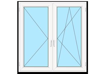 Двустворчатые окна